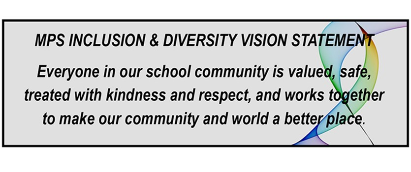 MPS' inclusion and diversity vision statement