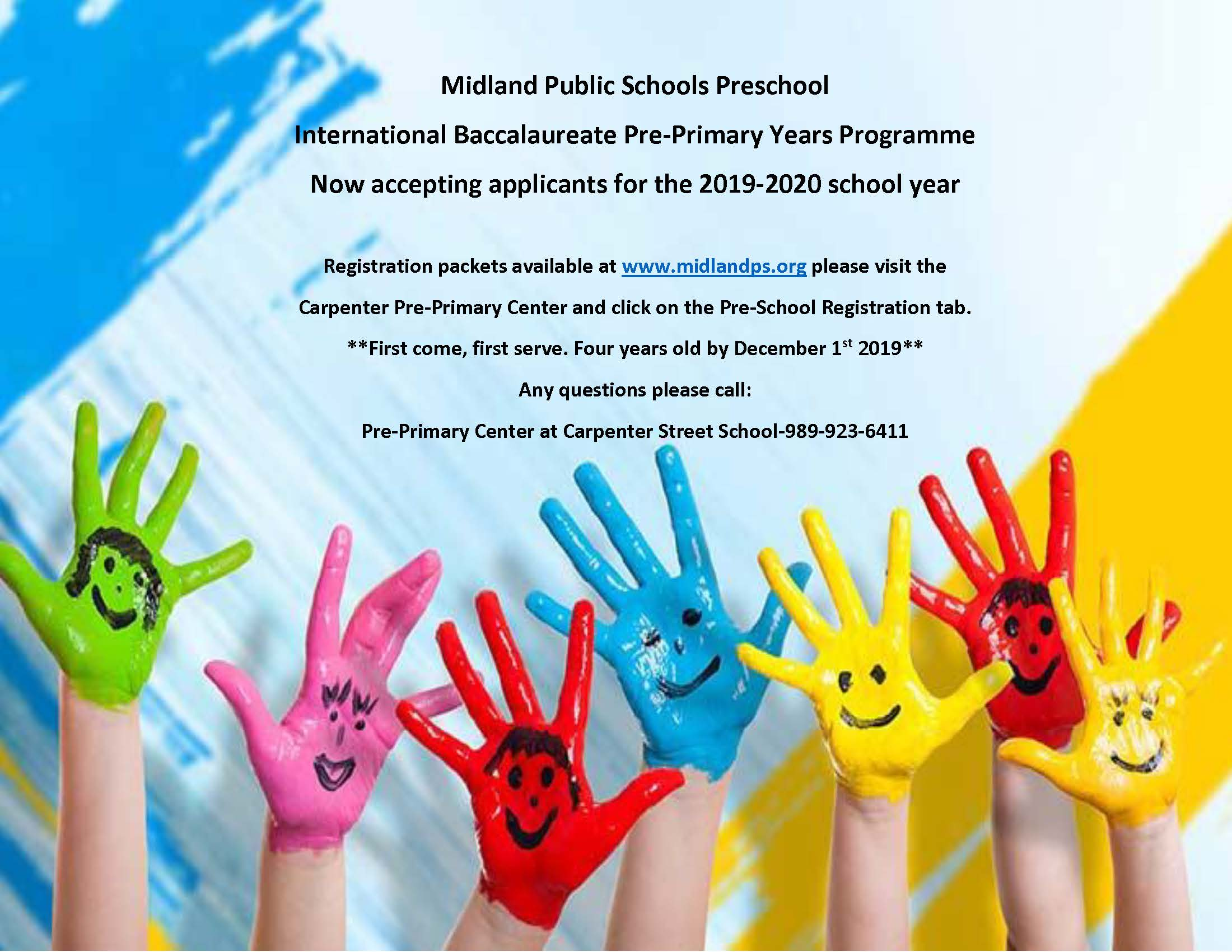Preschool Program - Midland Public Schools